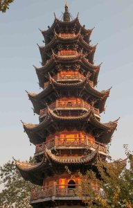 Temple Longhua, Shanghai : Pagode