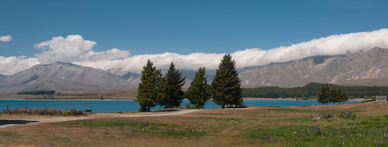 Lac Tekapo, Ile du Sud, Nouvelle-Zélande
