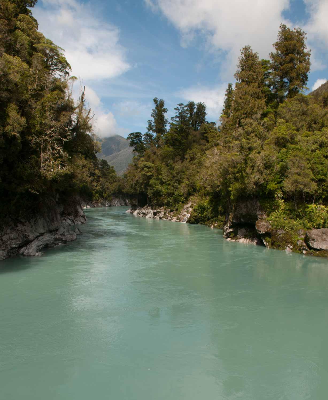 Okitika, Okitika Gorge, Ile du Sud, Nouvelle-Zélande