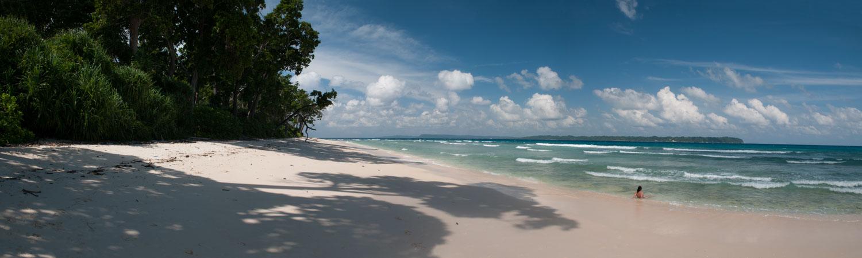 Plage Laxmanpur, Ile Neil, Iles Andaman, Inde