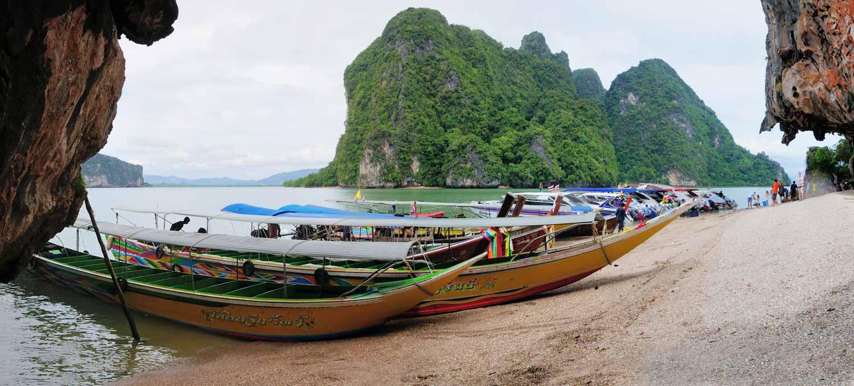 Koh Kao Ping Kan (James Bond Island), Phang Nag Province, Thailande