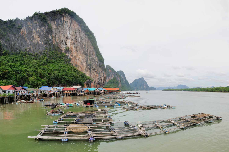 Koh Panyee, Phang Nga Province, Thailande