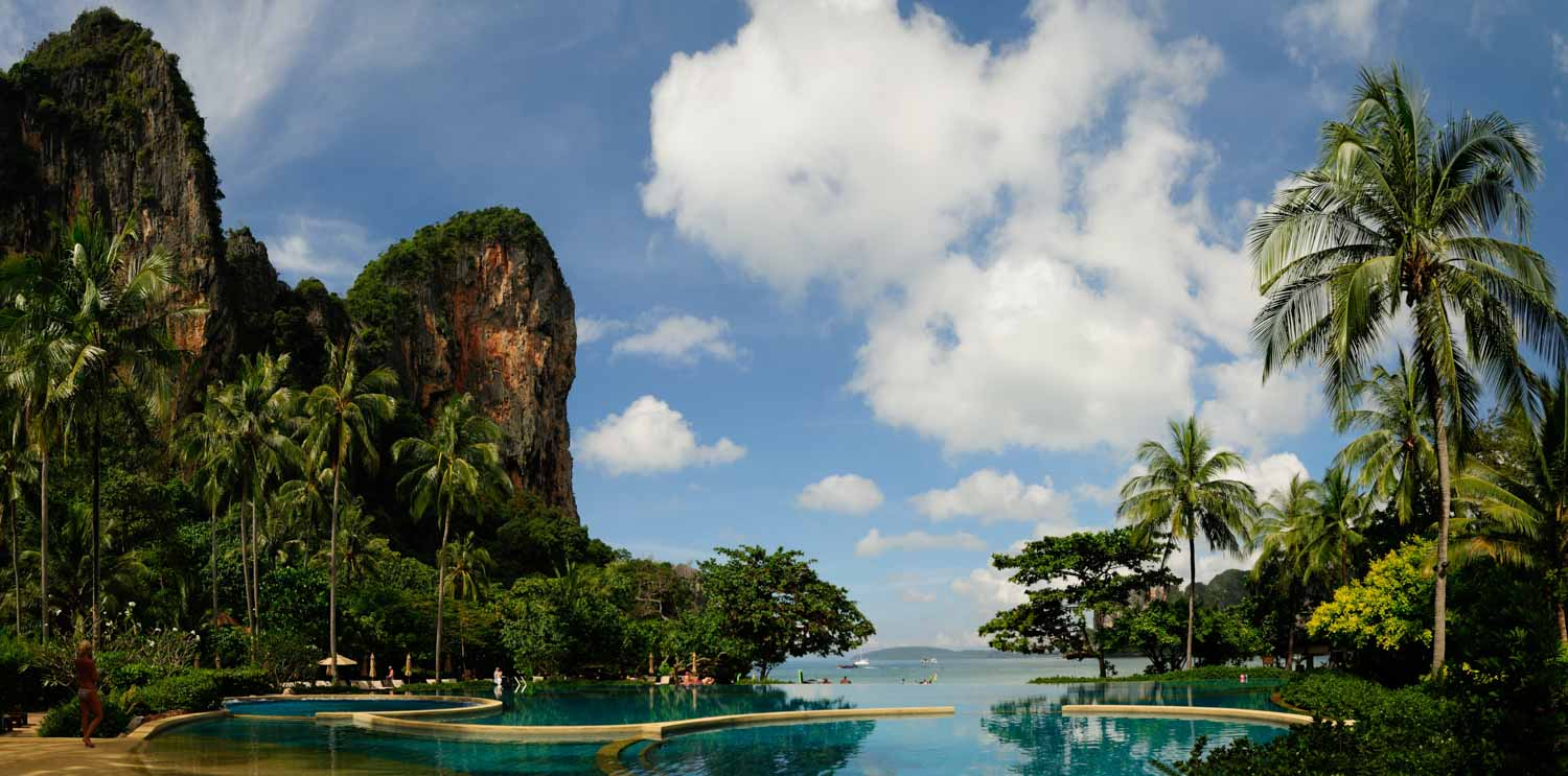 Railay Bay, Krabi, Thailande