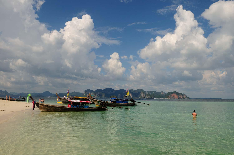 Koh Poda, Krabi Province, Thailande