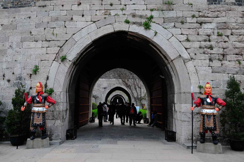 Porte Chinoise (Zhong Hua Men 中华门), Nanjing 南京
