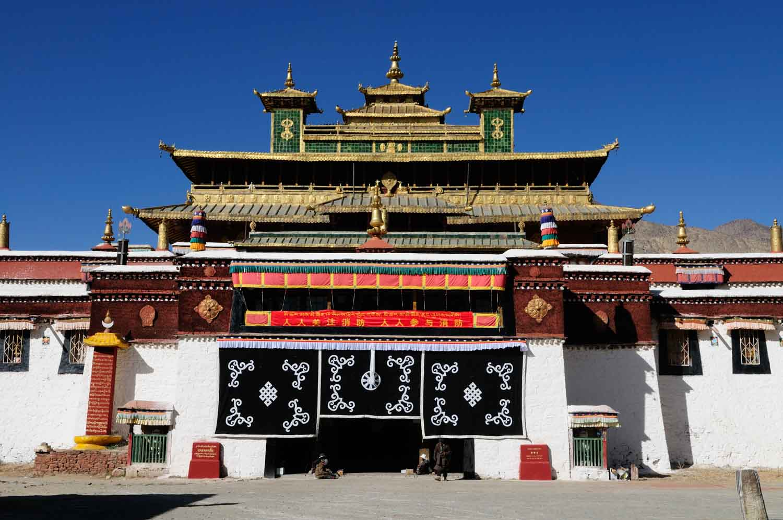 Monastère de Samye, Sāng Yē Sì 桑耶寺, Tibet