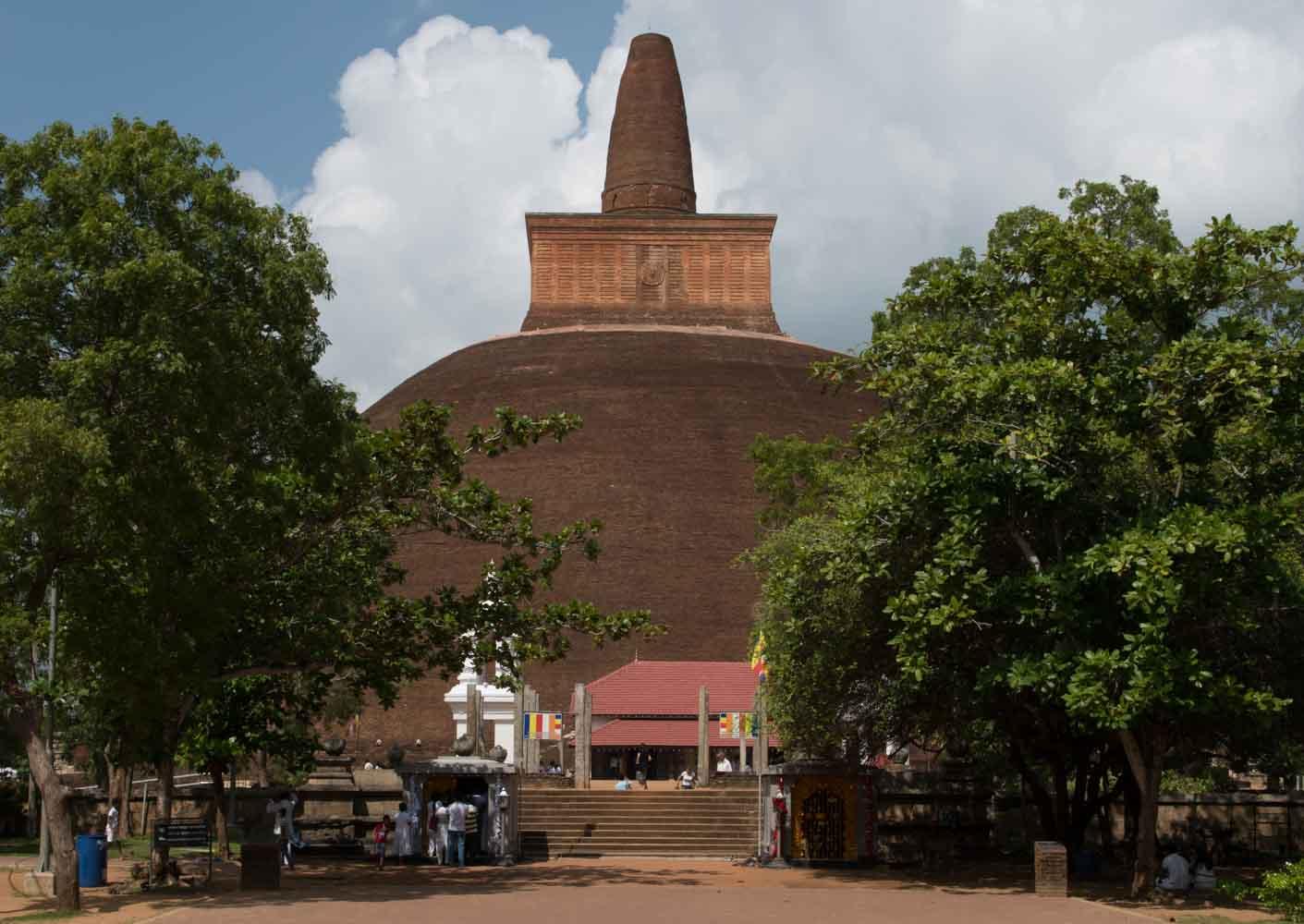 Abhayagiri Stupa, Anuradhapura, Sri Lanka
