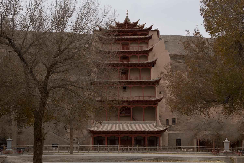 Grottes Mogao 莫高窟, Dunhuang 炖煌, Gansu 甘肃