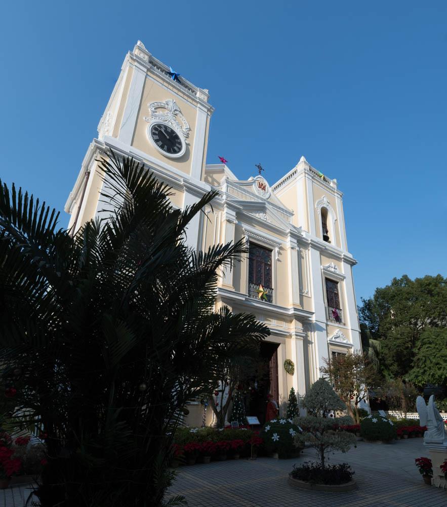 Eglise Saint-Laurent 圣老楞佐教堂, Macao 澳门