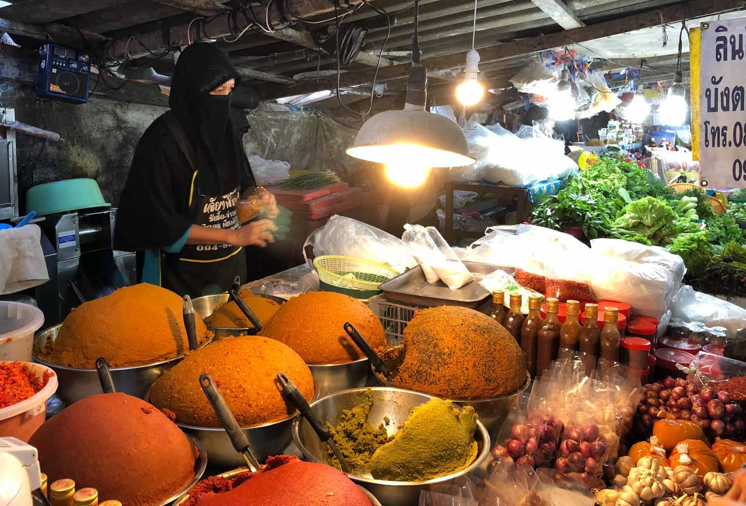 Marché du grand Bouddha (Bangrak Market)