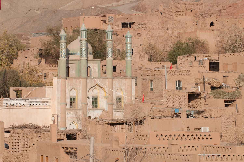 Vallée de Tuyoq 吐峪沟, Turpan 吐鲁番, Xinjiang 新疆