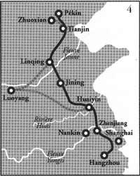 Carte du grand canal