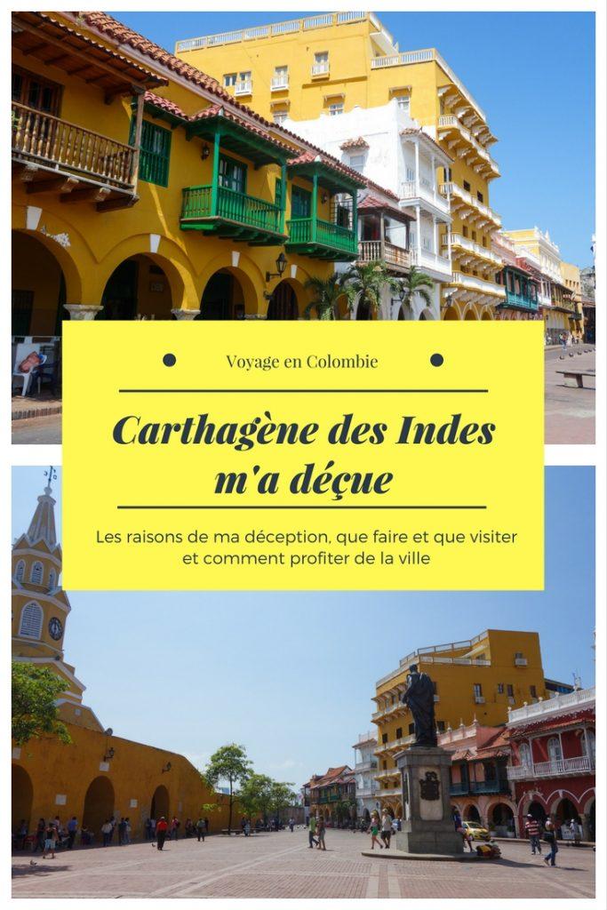 Voyage En Colombie Visiter Carthagne Des Indes