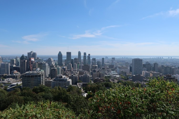 parc mont royal montreal