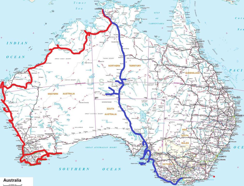 Itinéraire road-trip six mois en Australie