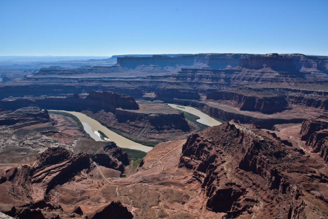 dead horse point splendide vue ouest américain
