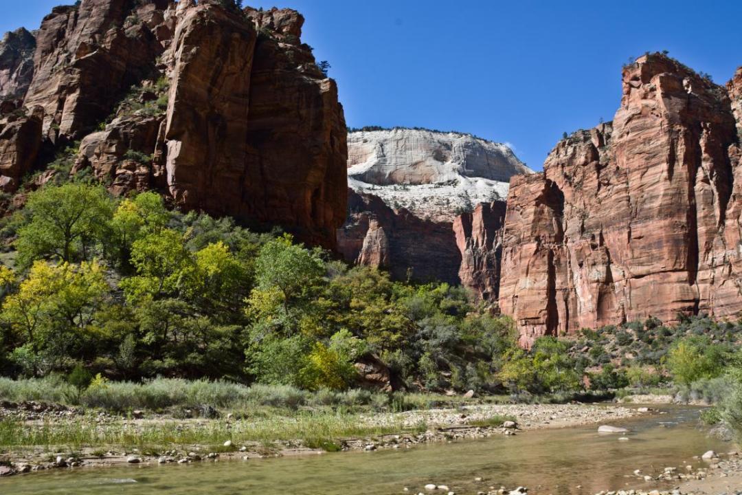 parc national zion ouest américain