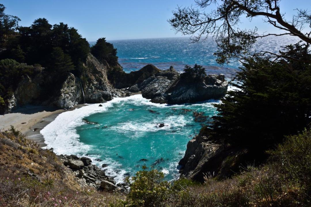 ouest américain belle plage sauvage