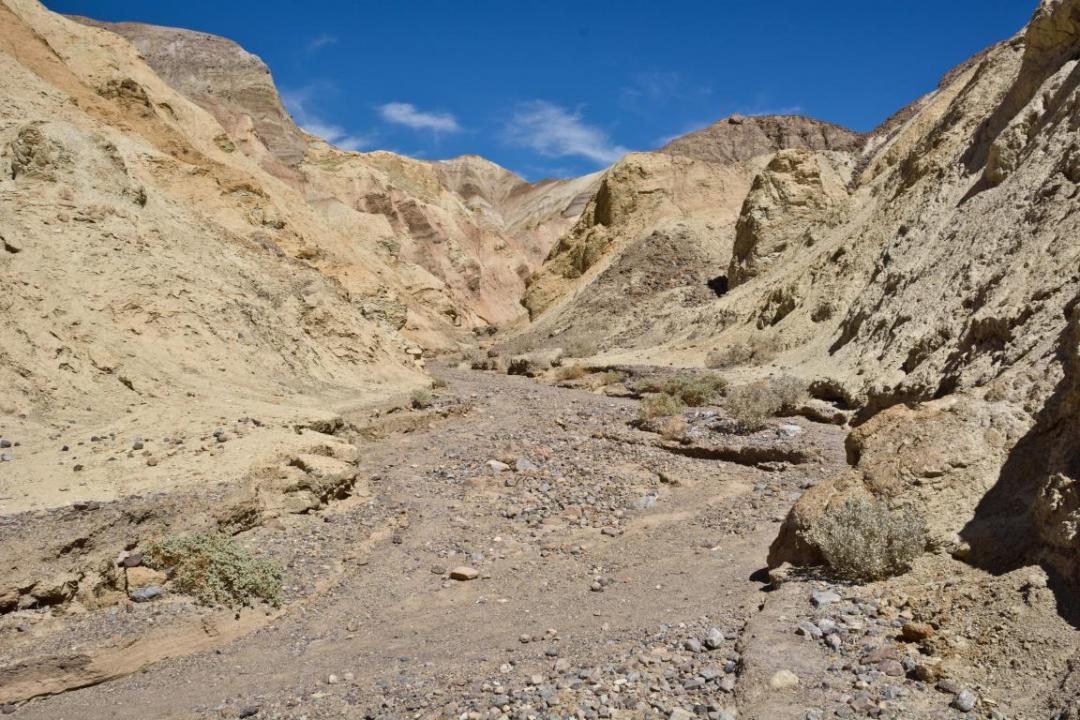 death valley désert ouest américain