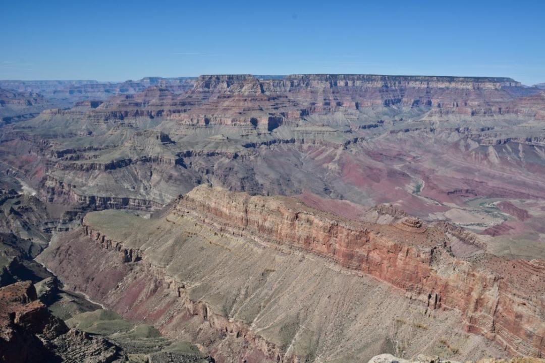 grand canyon immensité naturelle parc ouest américain