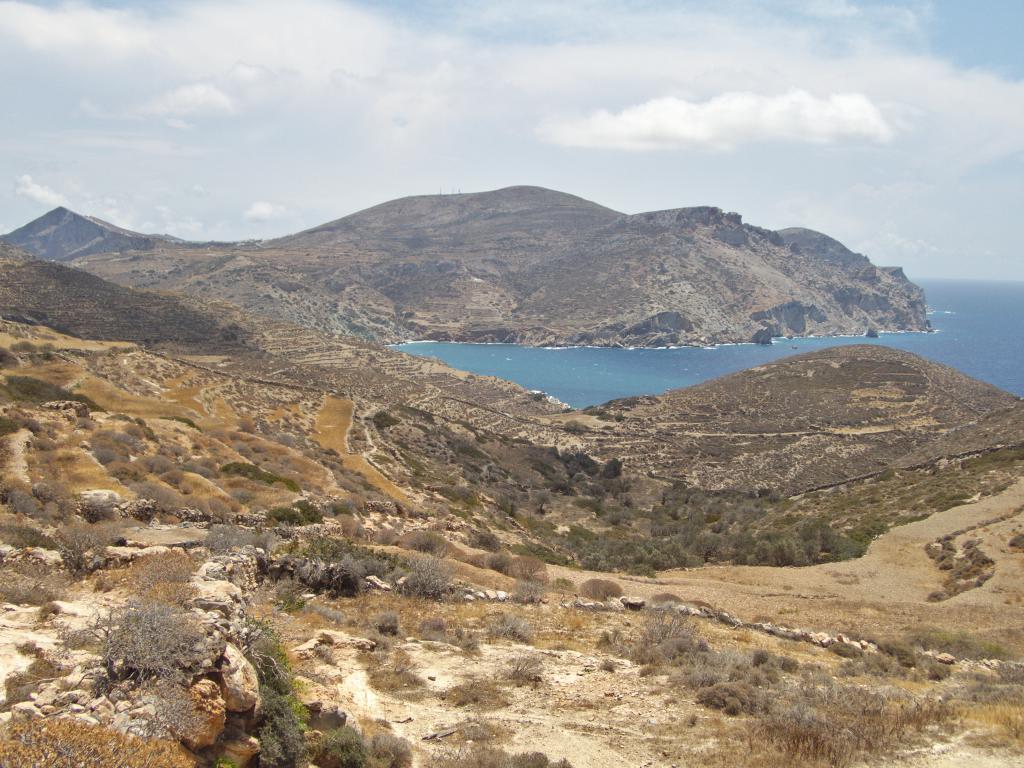 randonnée à folegandros dans les cyclades