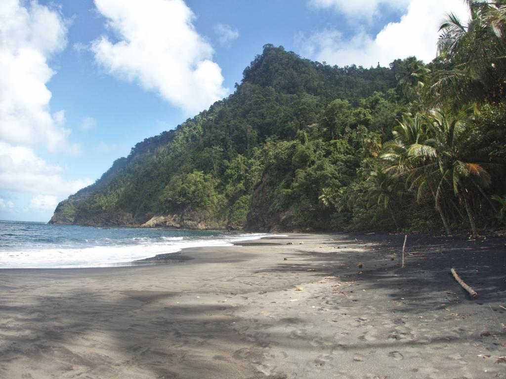 l'anse à Voile dans les Martinique, une jolie plage des Caraibes