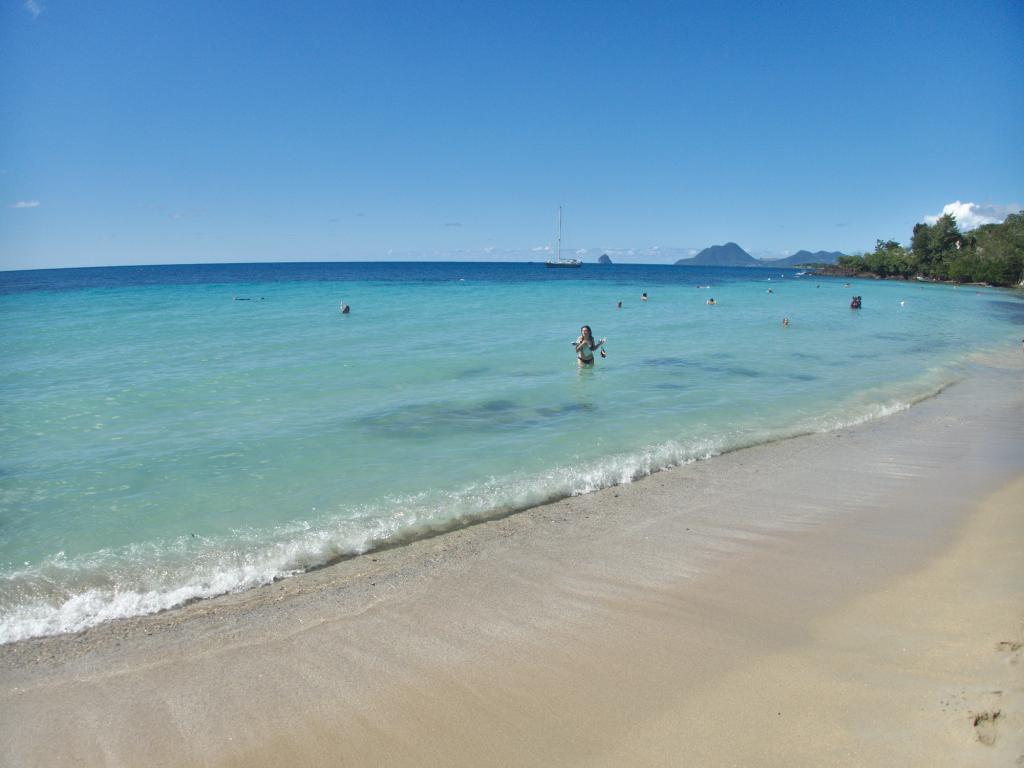 L'Anse Figuier en Martinique, une jolie plage des Caraibes