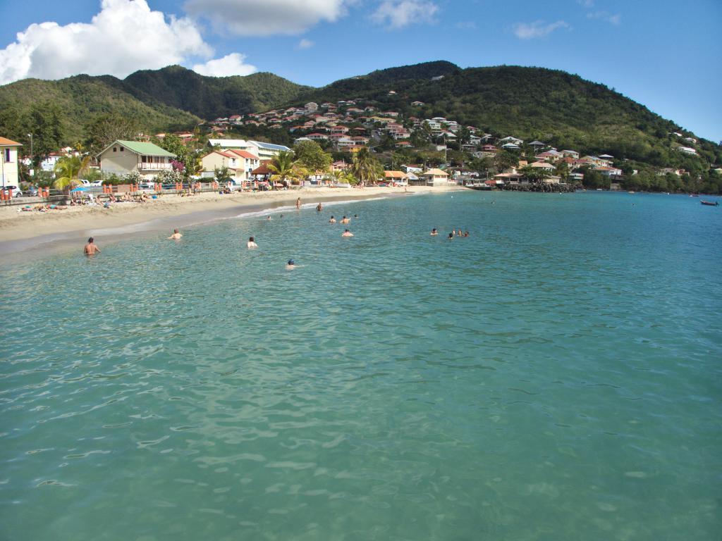 Les Anses d'Arlet en Martinique dans les Caraïbes