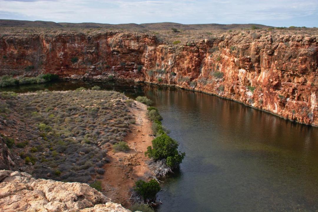 Cape range national park en Australie