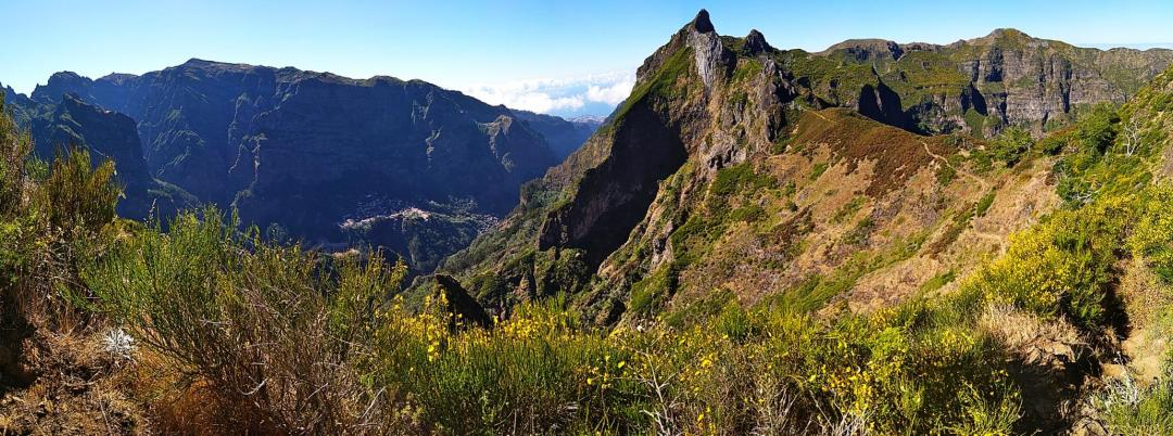 pico grande randonnée incontournable de l'île de madère