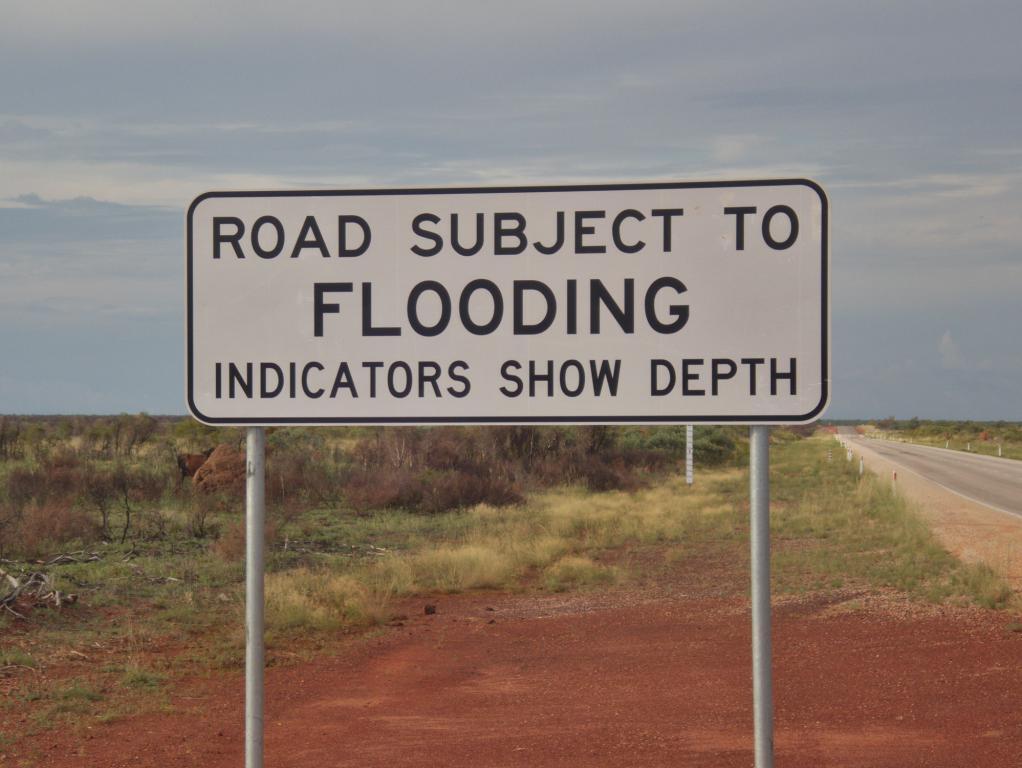 conduire en australie attention aux routes inondables