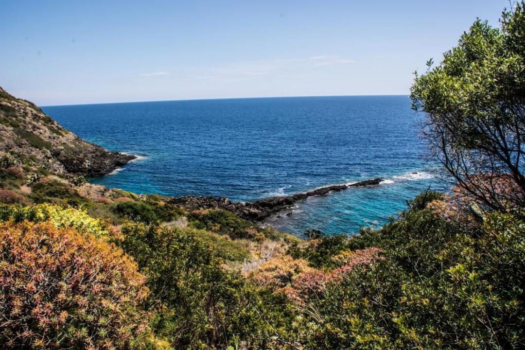 ile d'ustica en méditerranée