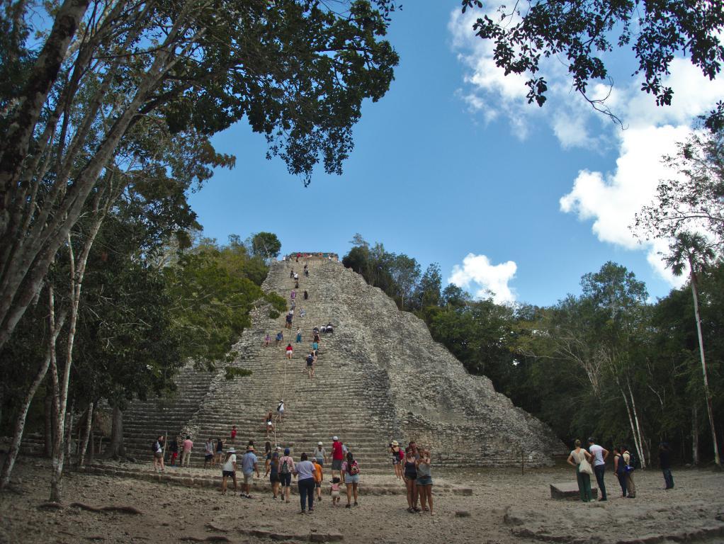 Coba ruines Yucatan