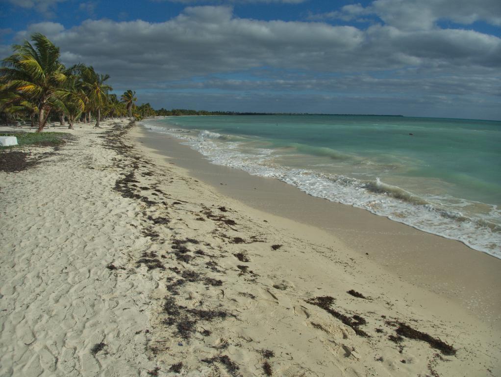 plage riviera maya dans peninsule du yucatan