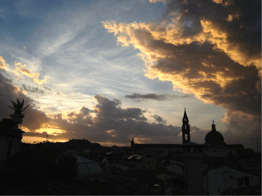 Fig. 4. Sky over Santo Spirito