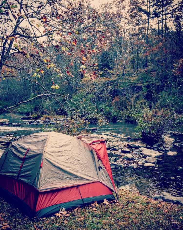 adventure autumn camp camping