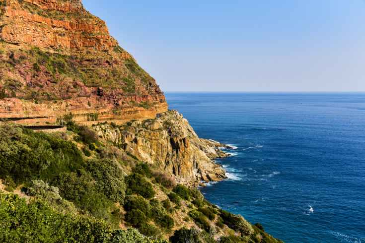 cape town cliff coast coastal