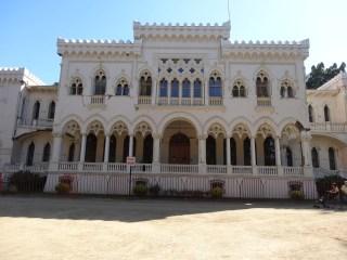 """El """"terremoteado"""" palacio en la Quinta Vergara, Viña del Mar"""