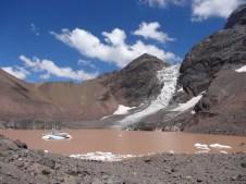 El glaciar del Morado