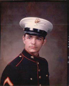 Calvin LaForest, Bay City, Michigan, US Marines. Courtesy of Jesse LaForest.