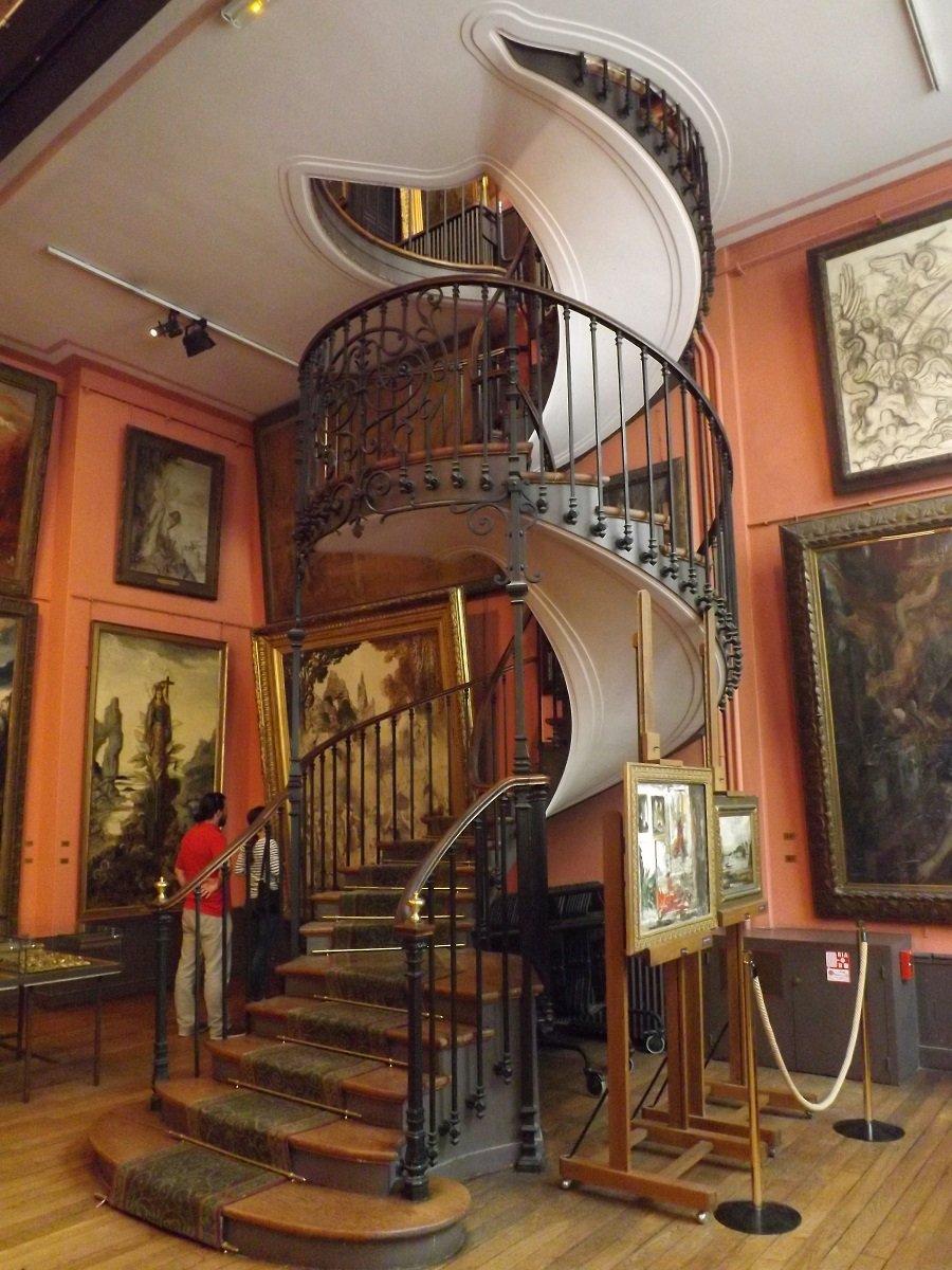 voyageursaparistome9  Archive du Blog  Le muse GustaveMoreau 1903