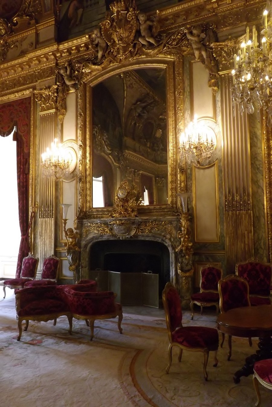 voyageursaulouvre  Archive du Blog  Les Grands appartements du ministre dEtat au Louvre 185661