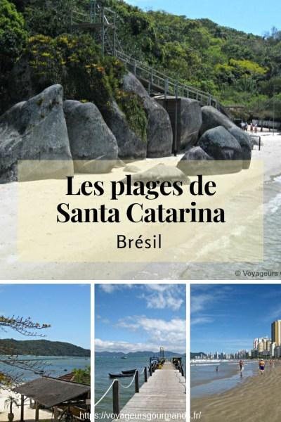 Les plages de Santa Catarina