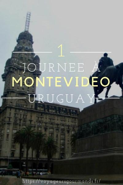 journée a Montevideo en Uruguay