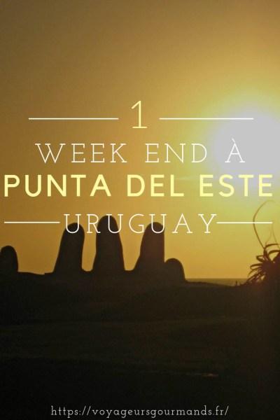 week end a Punta del Este en Uruguay