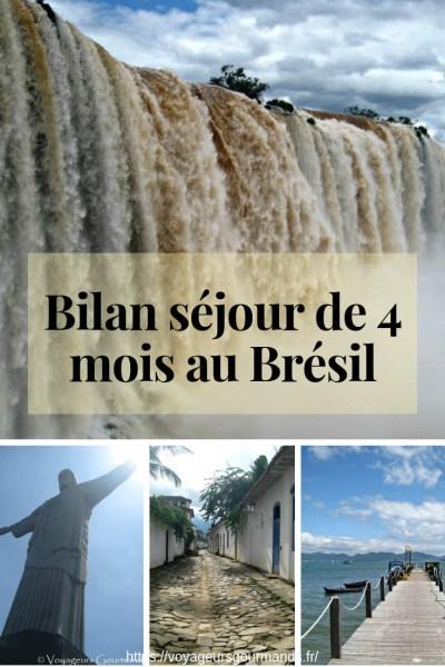 Bilan séjour de 4 mois au Brésil