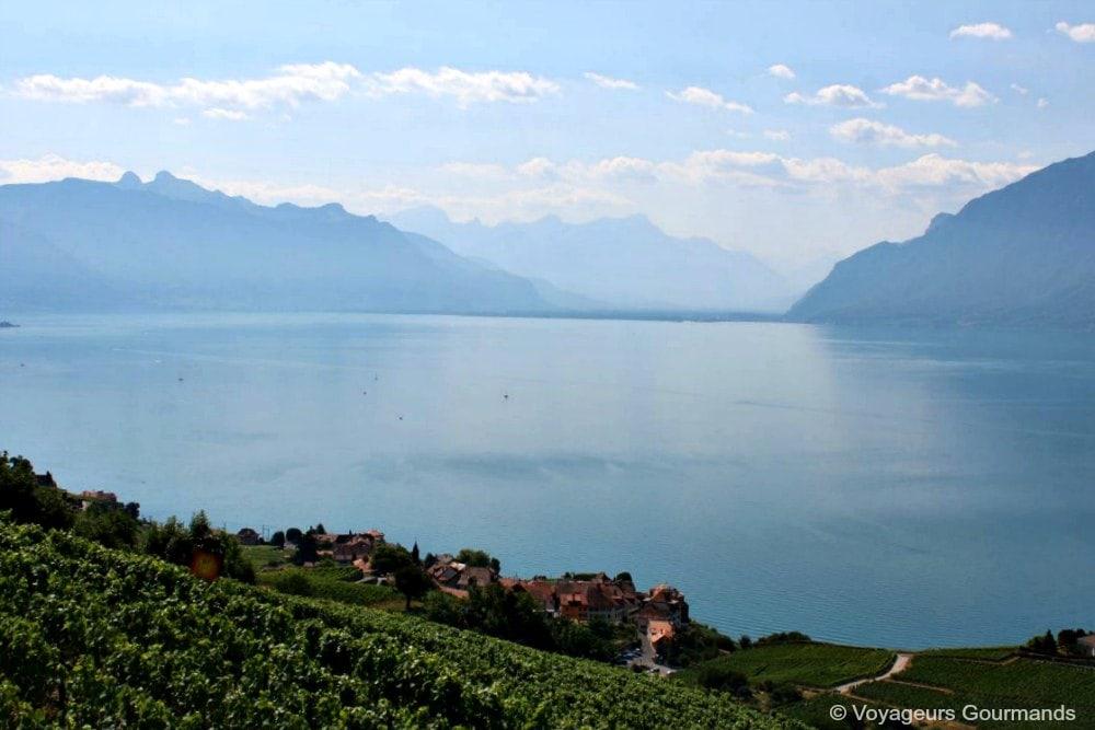 Suisse : Autour du Lac Léman