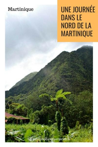 Journée dans le nord de la Martinique