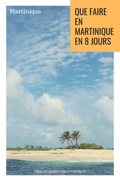 Que faire en Martinique en 8 jours