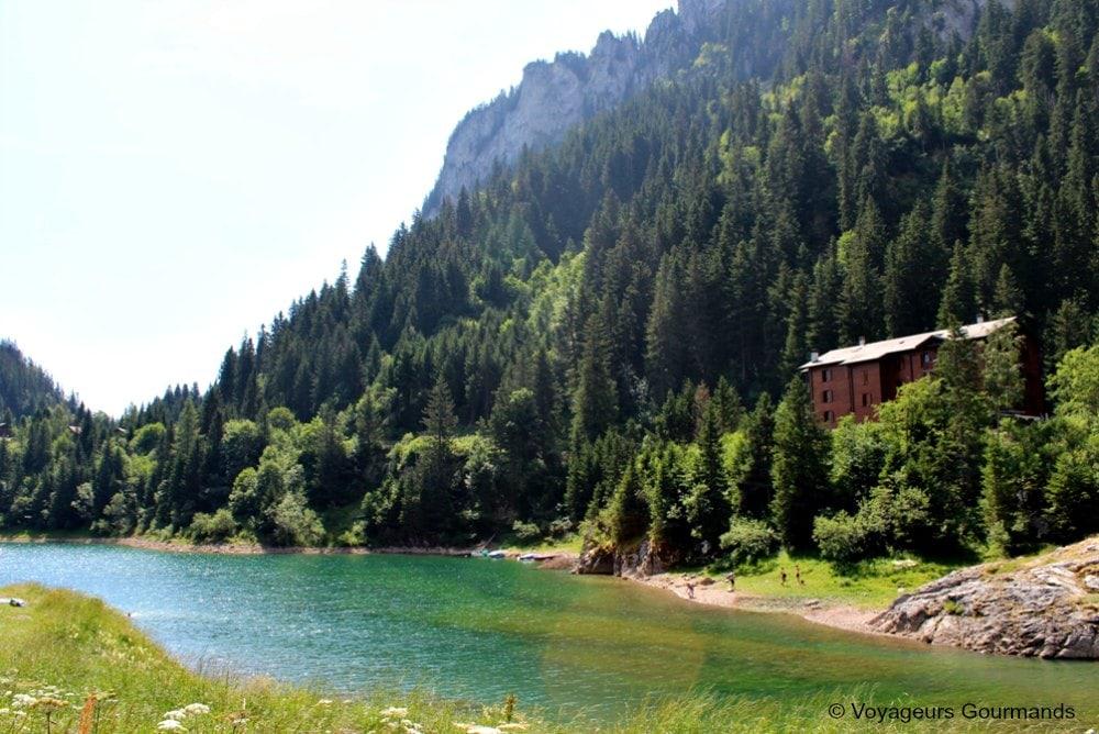 randonnée au lac de taney